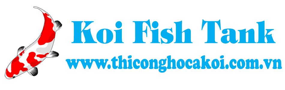Thiết kế thi công hồ cá Koi Việt