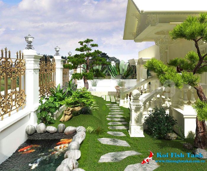 Thiết kế thi công sân vườn chuyên nghiệp