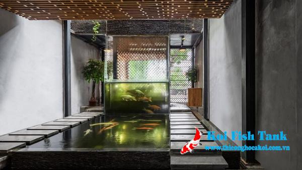 Thiết kế hồ cá trong nhà