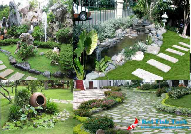 Các nguyên tắc và cách bố trí khi thiết kế khuôn viên sân vườn