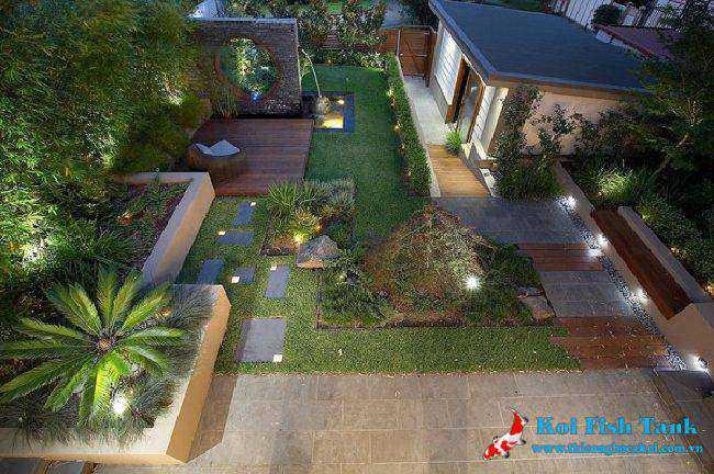 Thiết kế sân vườn tạo môi trường sống tốt hơn