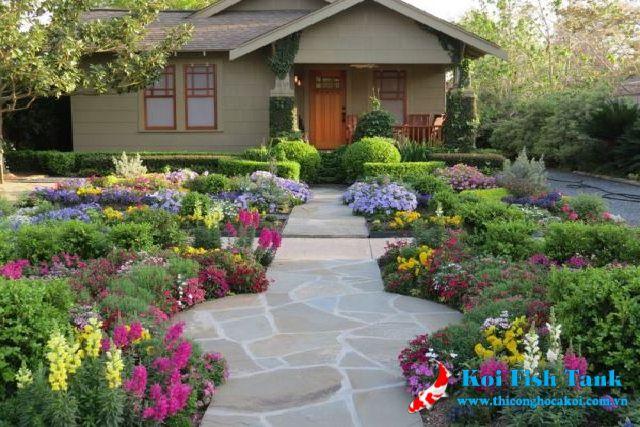 5 ý tưởng thiết kế sân vườn đẹp