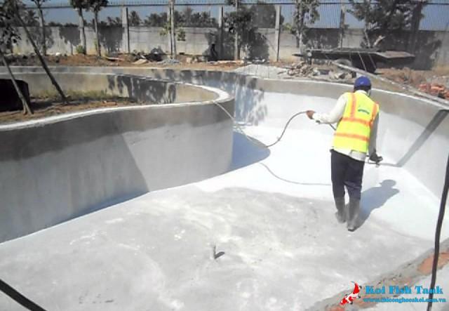 Tầm quan trọng của việc chống thấm cho hồ koi