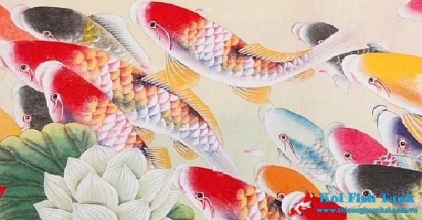 Truyền thuyết cá koi