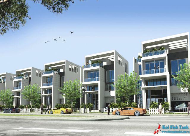 Ý tưởng thiết kế nhà phố hiện đại đẹp