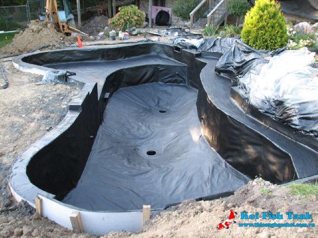 Xây dựng hồ cá koi ngoài trời