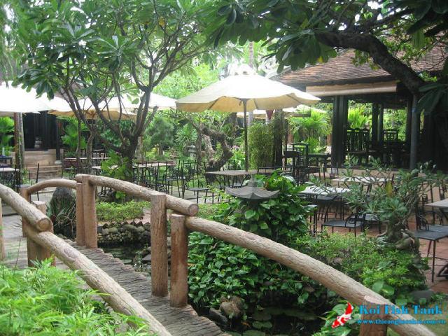 Cà phê sân vườn đẹp