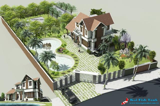 Nguyên lý thiết kế cảnh quan sân vườn