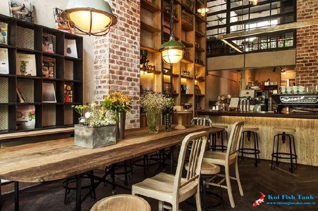 Thiết kế quán cà phê cổ điển