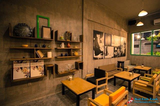 Bố trí nội thất quán cafe