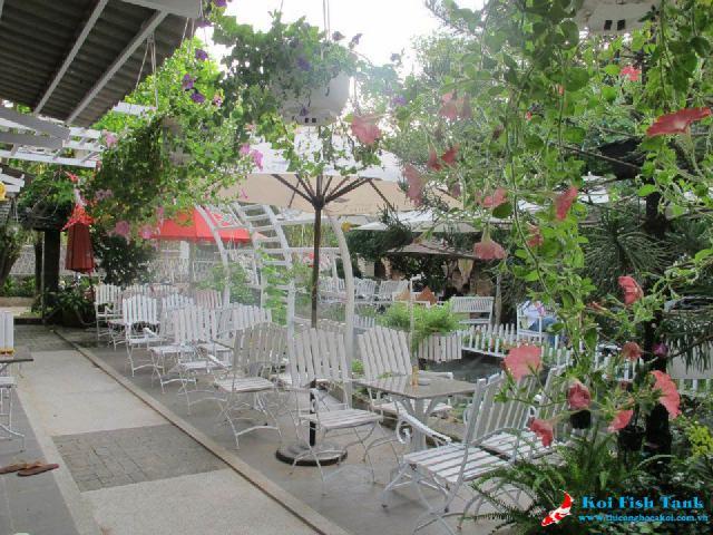 Lý do bạn chọn mô hình quán cafe sân vườn ?