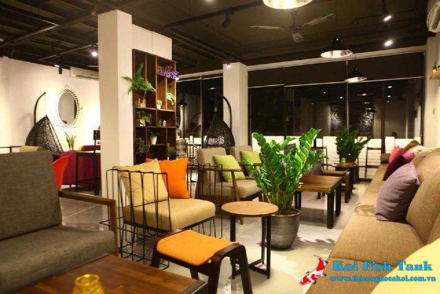 Phong cách thiết kế quán cà phê đẹp