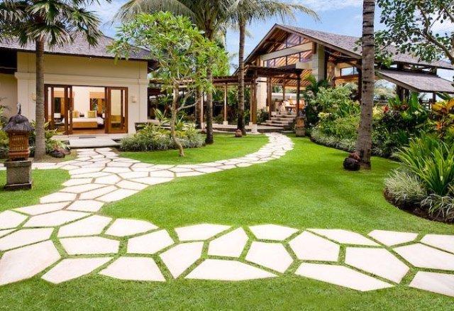 Thiết kế lối đi cho sân vườn