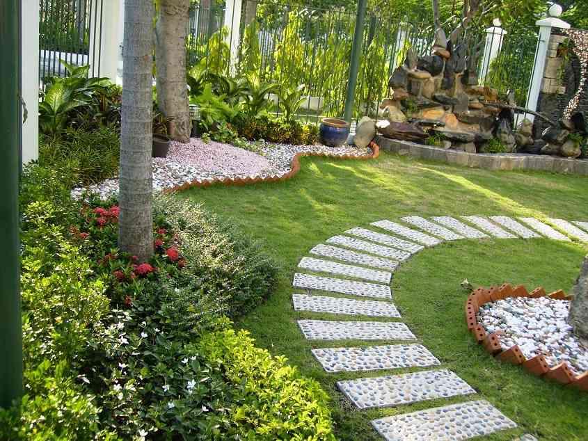 Một góc sân vườn đẹp