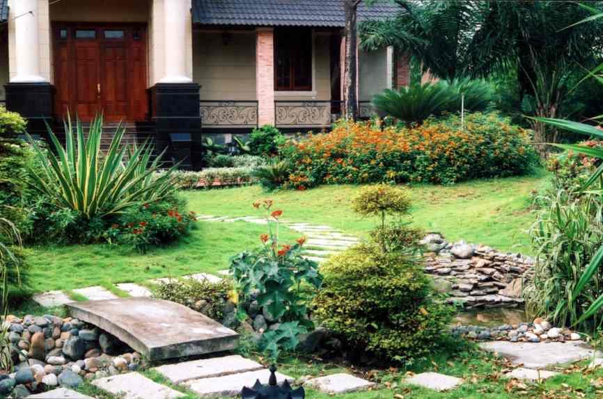 Ý tưởng thiết kế sân vườn đẹp cho bạn chiêm ngưỡng